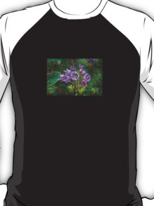 Purple Wildflower Machine Dreams T-Shirt