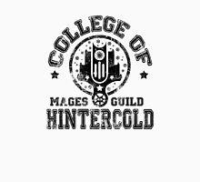 College of Hintercold - Black Men's Baseball ¾ T-Shirt