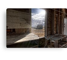 View from the Grain Elevator Canvas Print