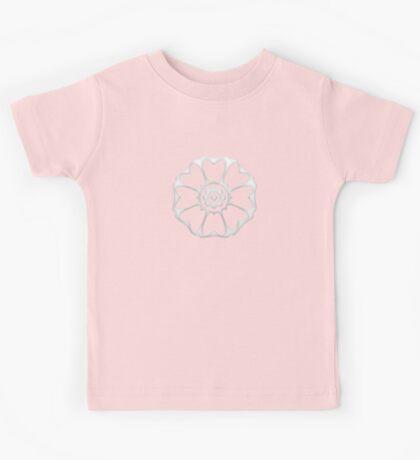 White Lotus Symbol Kids Tee