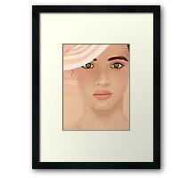Pastel Pretty Framed Print
