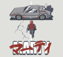 Back to the Future - Akira (Marty Mcfly) by Zoku