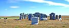 Carhenge, Alliance, Nebraska, USA (panorama) by Margaret  Hyde