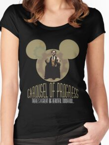 Carousel of Progress: THE SHIRT! Women's Fitted Scoop T-Shirt
