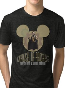 Carousel of Progress: THE SHIRT! Tri-blend T-Shirt