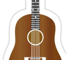 Guitar feels good w Sticker