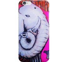 white E. iPhone Case/Skin
