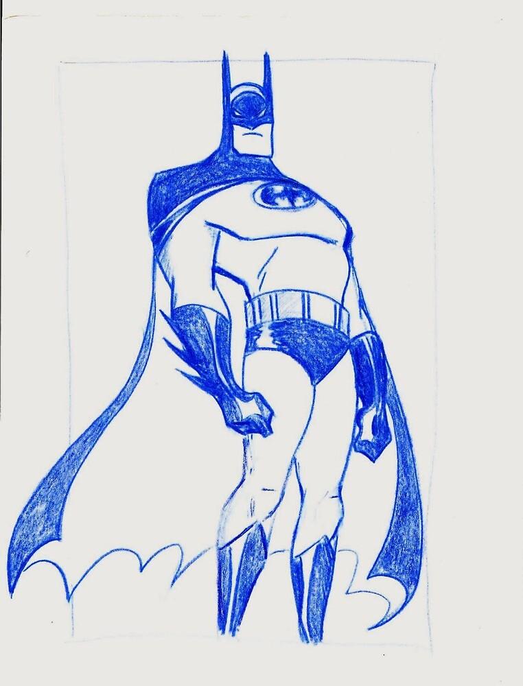 The Bat by brandondraws
