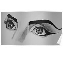 Lady Gaga Telephone Eyes Poster