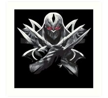 League of Legends - Zed Art Print