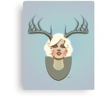 Dear Marilyn Canvas Print