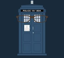 Doctor Who glasses TARDIS tenth doctor by nouvellegamine