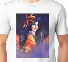 Jack-O-Lantern Witch Unisex T-Shirt