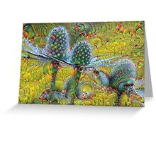 Sea Holly Machine Dreams Greeting Card