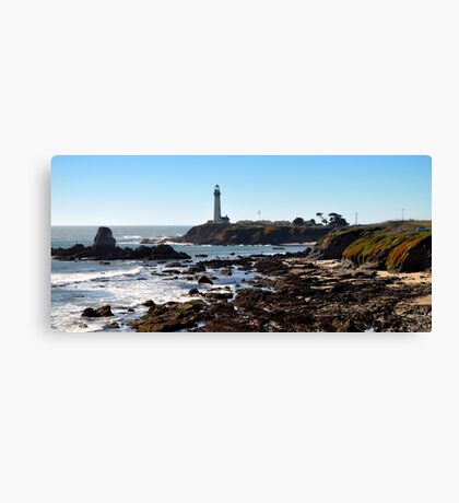 Pigeon Point Light House Canvas Print