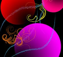 Colored Baubles by AHakir