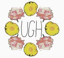 Floral Ugh Kids Tee