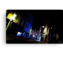 Another World - Street Canvas Print