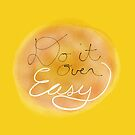 Do it Over EASY (card) by Kevin Bergen