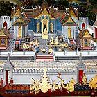 Grand Palace Bangkok Thailand 5 by Terry Jorgensen