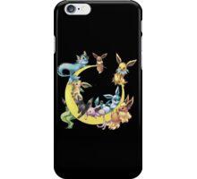 pokemon evee collection iPhone Case/Skin