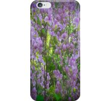 Purple And Green Summer iPhone Case/Skin