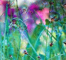 Vivid Grasses Machine Dreams by Nicole Petegorsky