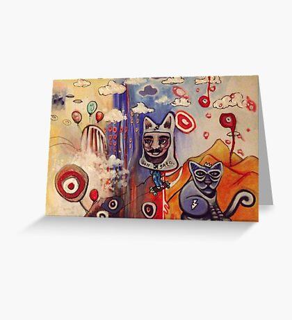 Don Gato Greeting Card