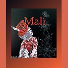 Mali (Spiral Notebook) by scallyart