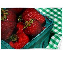 Strawberries!! Poster