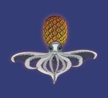 pineapple squid by dennis william gaylor