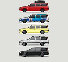 Stack of Volvo 850R 855R T5 Turbo Station Wagons T-Shirt