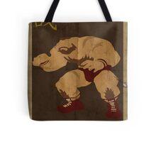 FIGHT: Street Fighter #2: Zangief Tote Bag