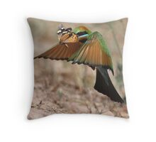 Butterfly Heist Throw Pillow