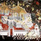 Grand Palace Bangkok Thailand 6 by Terry Jorgensen