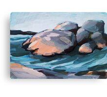 Saltholmen - beach Canvas Print