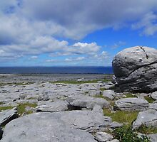 The Burren landscape by Joe Cashin