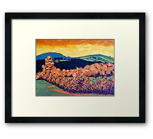 Tara Hill, Wexford Framed Print