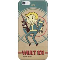 Fallout Vault Kid with Dogmeat iPhone Case/Skin