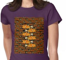 many fish (uni) Womens Fitted T-Shirt