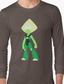 Minimal Peridot/Steven Universe Long Sleeve T-Shirt