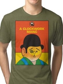 A Clockwork Manc Tri-blend T-Shirt