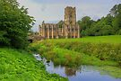 Fountains Abbey Yorkshire 2 by Colin  Williams Photography