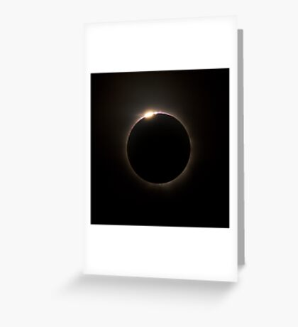 Solar Eclipse 2012 Greeting Card