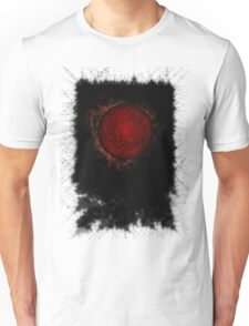 black sky sun Unisex T-Shirt