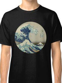 Great Wave off Kanagawa circle Classic T-Shirt