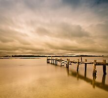 Broken Jetty 01 by kevin chippindall