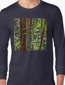 Beautiful rainforest vines Long Sleeve T-Shirt