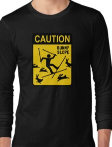CAUTION: Bunny Slope Long Sleeve T-Shirt