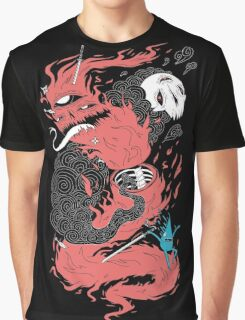 Death Of The Fire Demon Graphic T-Shirt